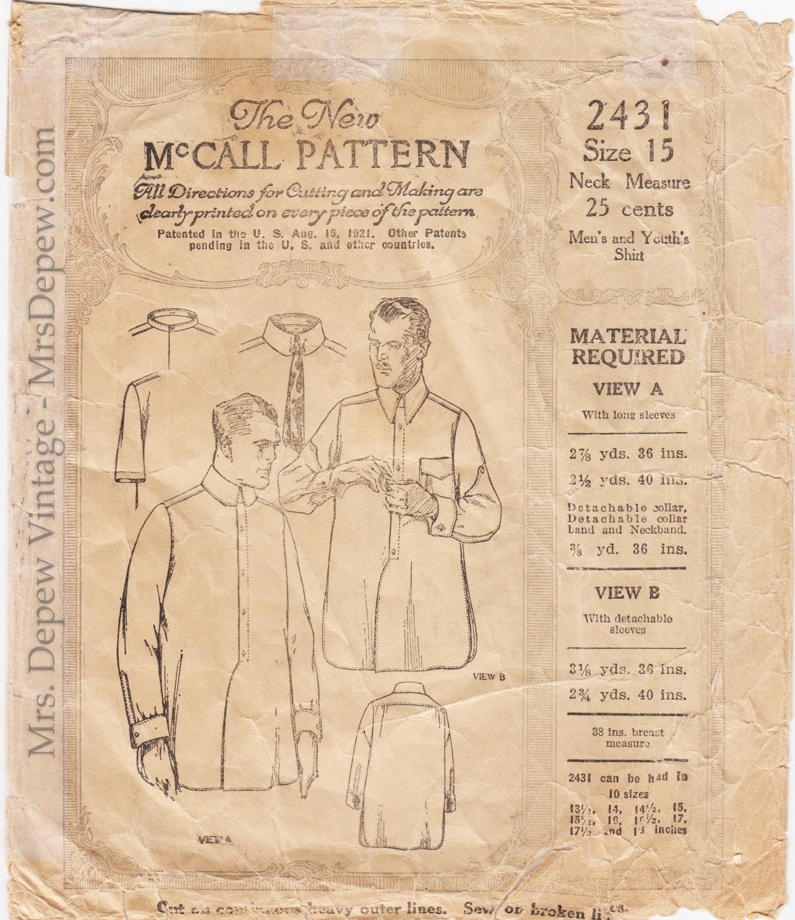 McCall 2431