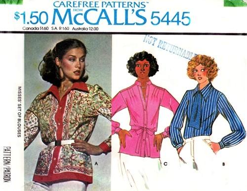 McCall's 5445 A