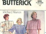 Butterick 3209 A