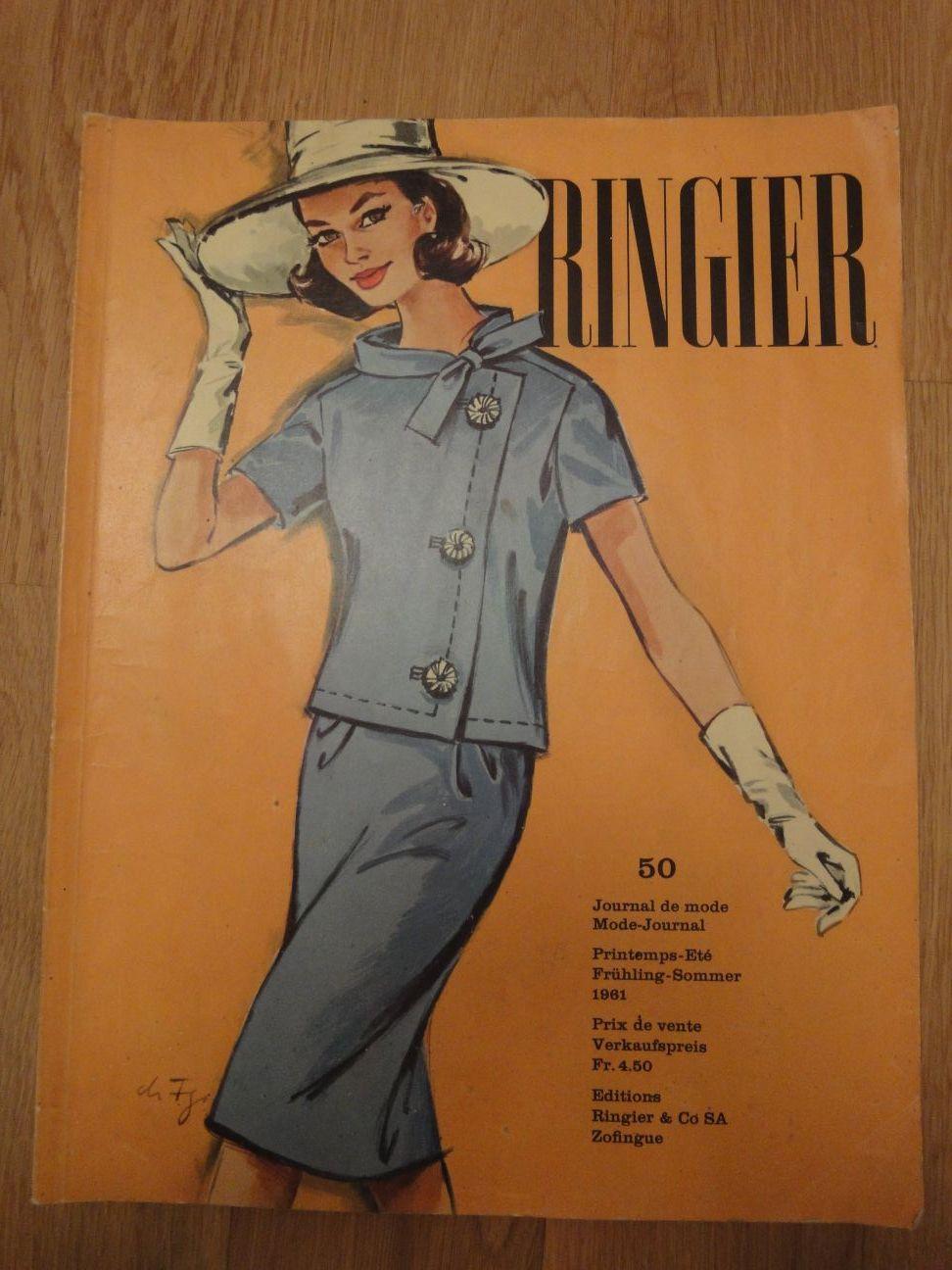Ringier Journal de Mode Spring/Summer 1961