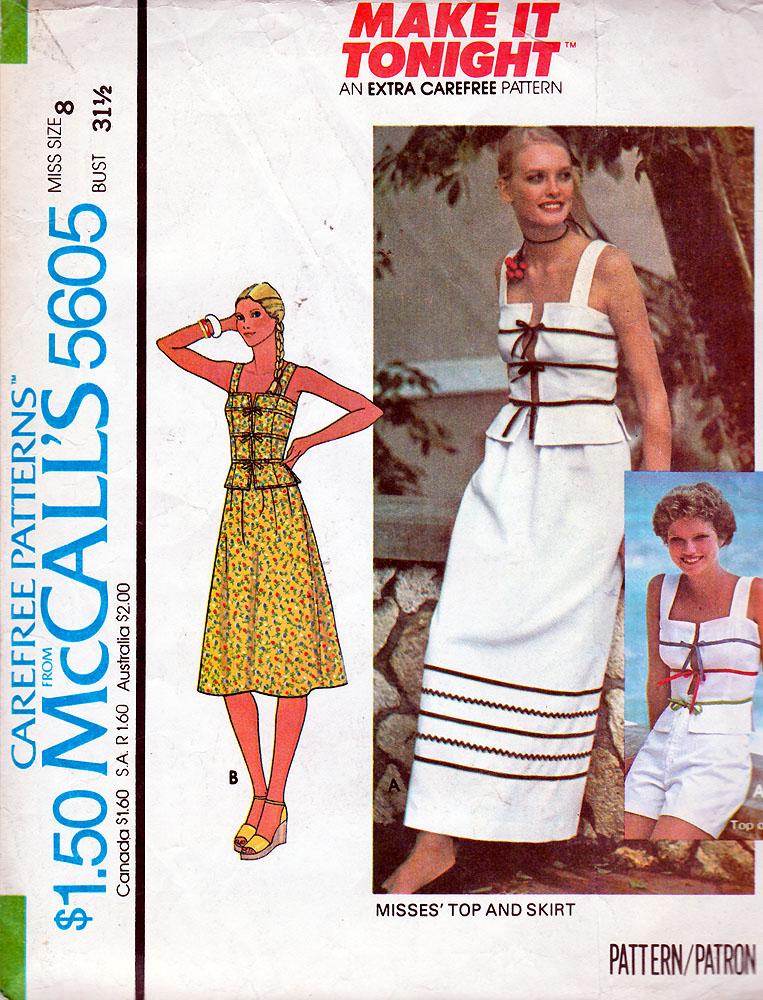 McCall's 5605 A