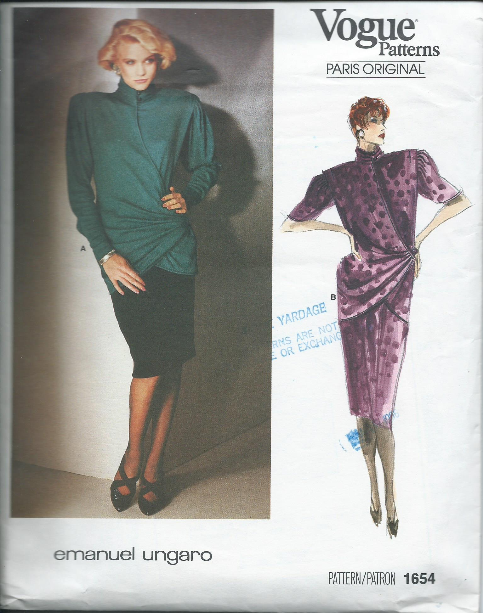 Vogue 1654 A