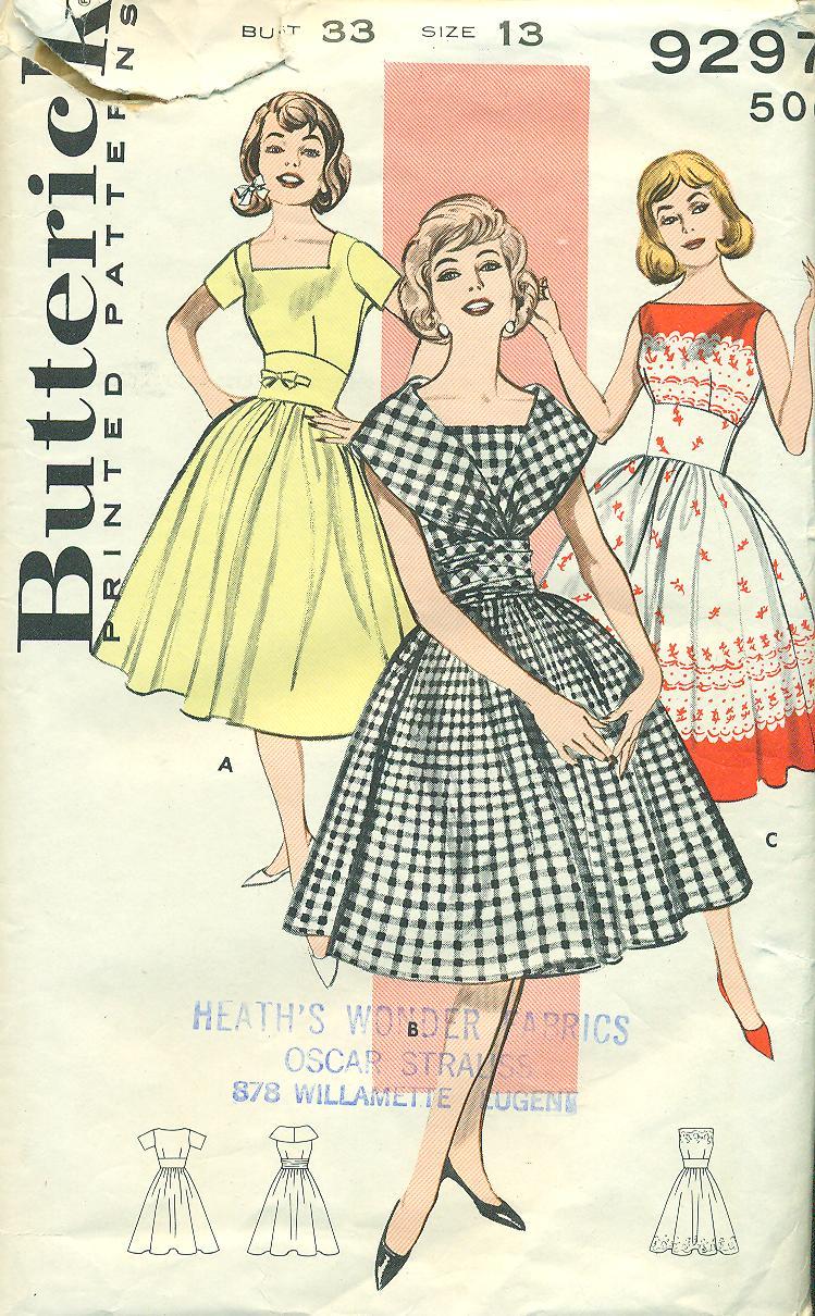 Butterick 9297