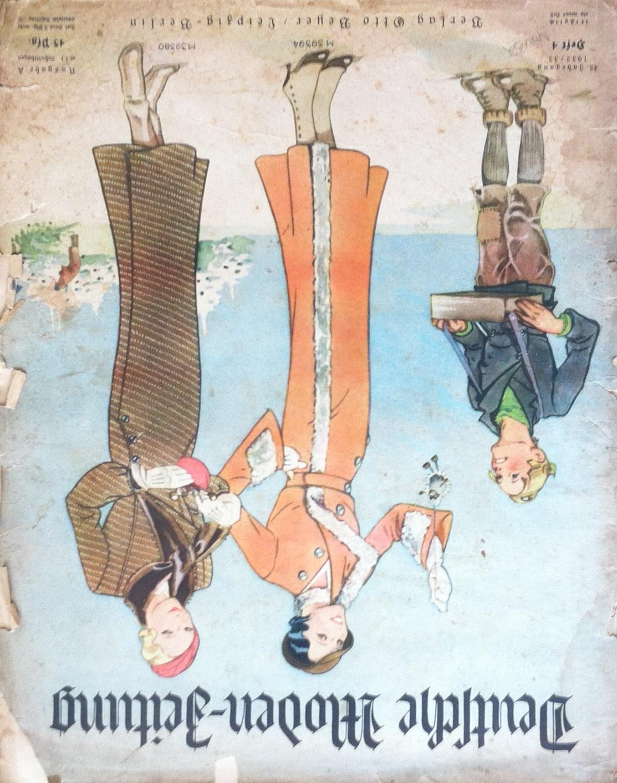 Deutsche Moden-Zeitung No. 4 Vol. 42 1932/33