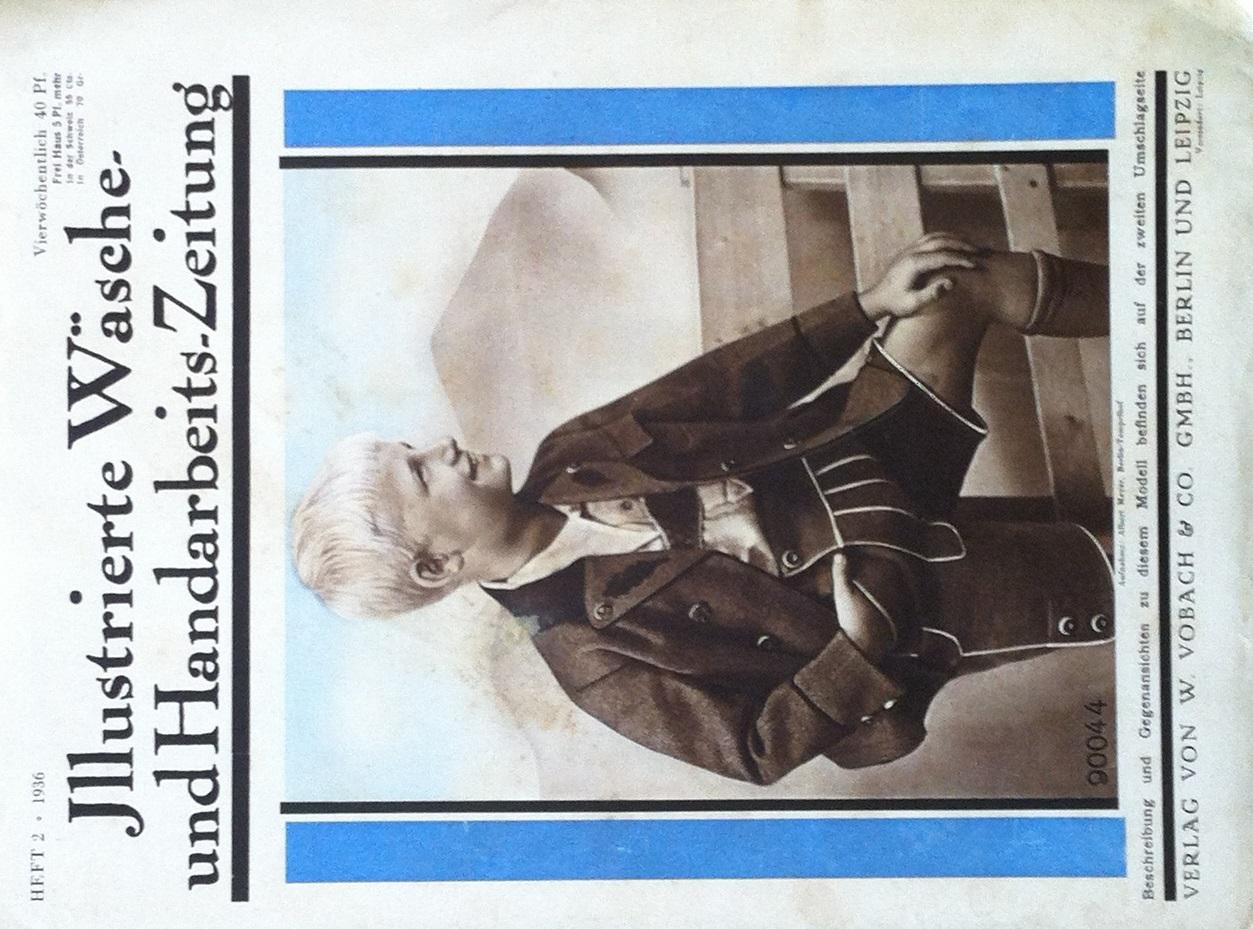 Illustrierte Wäsche- und Handarbeits-Zeitung No. 2 1936