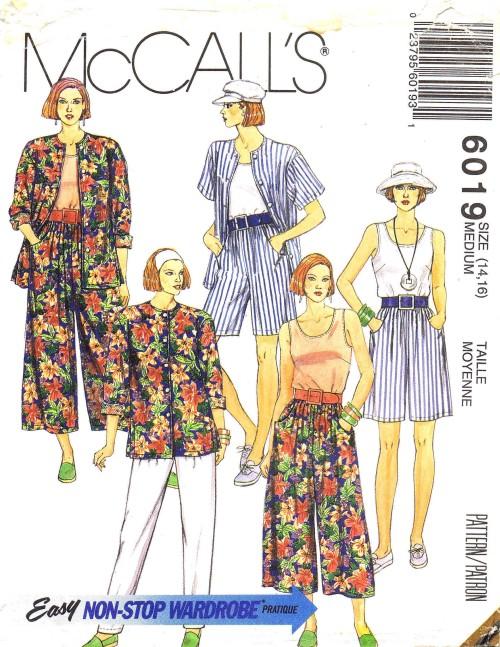 McCall's 6019 B