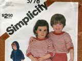 Simplicity 5778 A