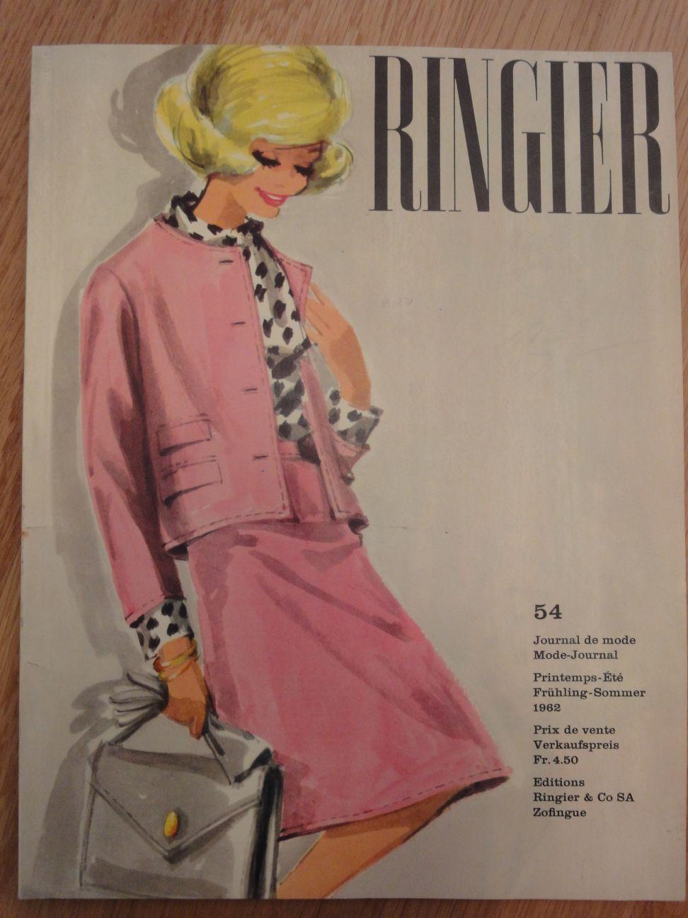 Ringier Journal de Mode Spring/Summer 1962