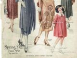 Pictorial Review Fashion Book Spring 1921