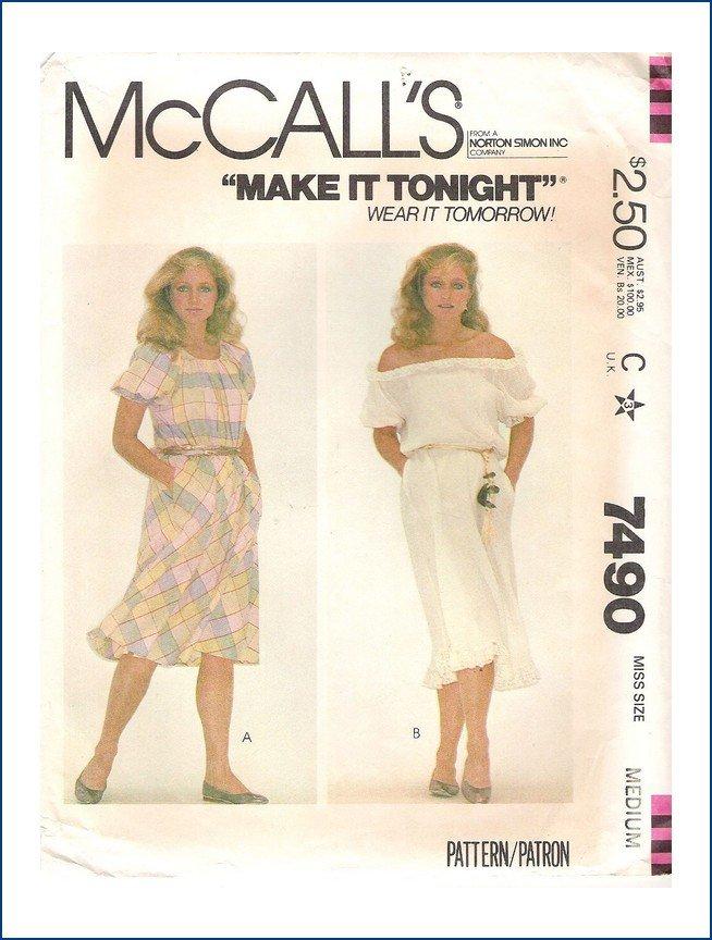 McCall's 7490 A