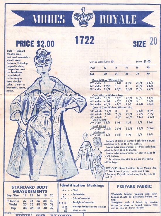 Modes Royale 1722