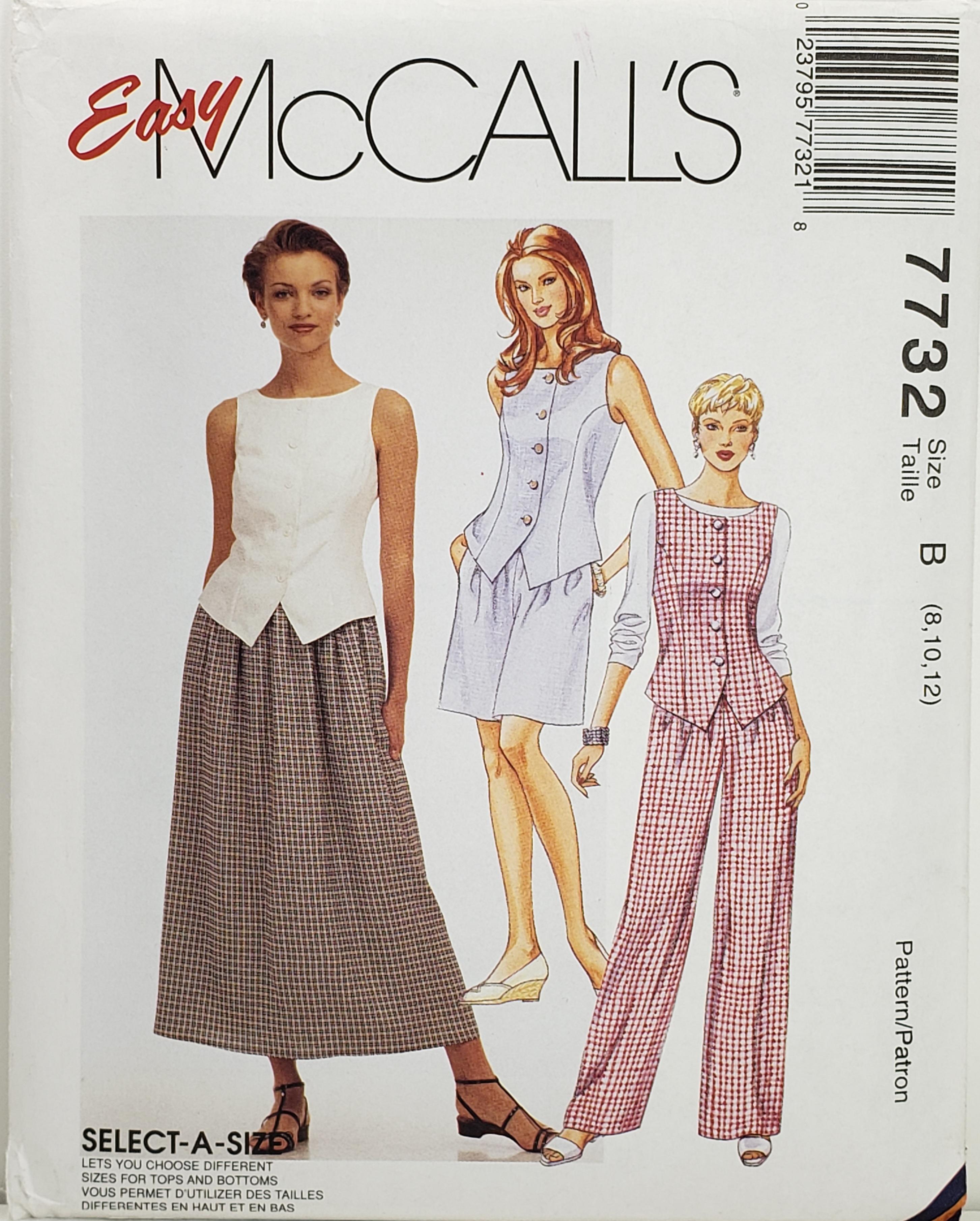 McCall's 7732 B
