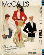 McCalls 1982 7881
