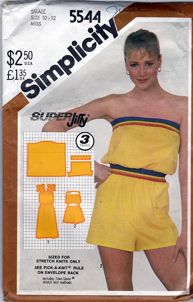 Simplicity 5544 A