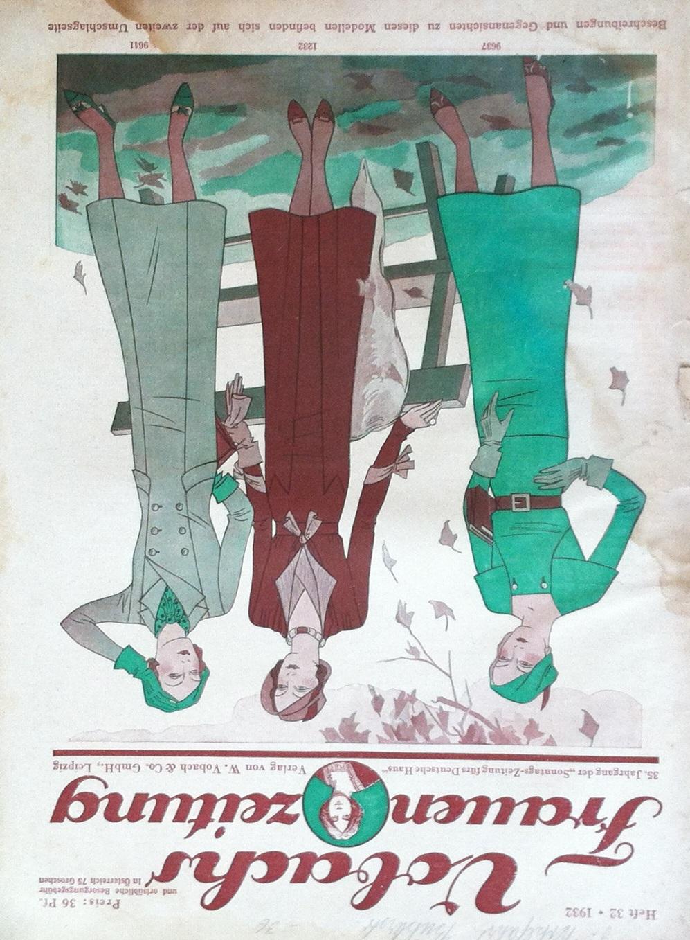 Vobachs Frauenzeitung No. 32 Vol. 35 1932