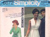 Simplicity 6672