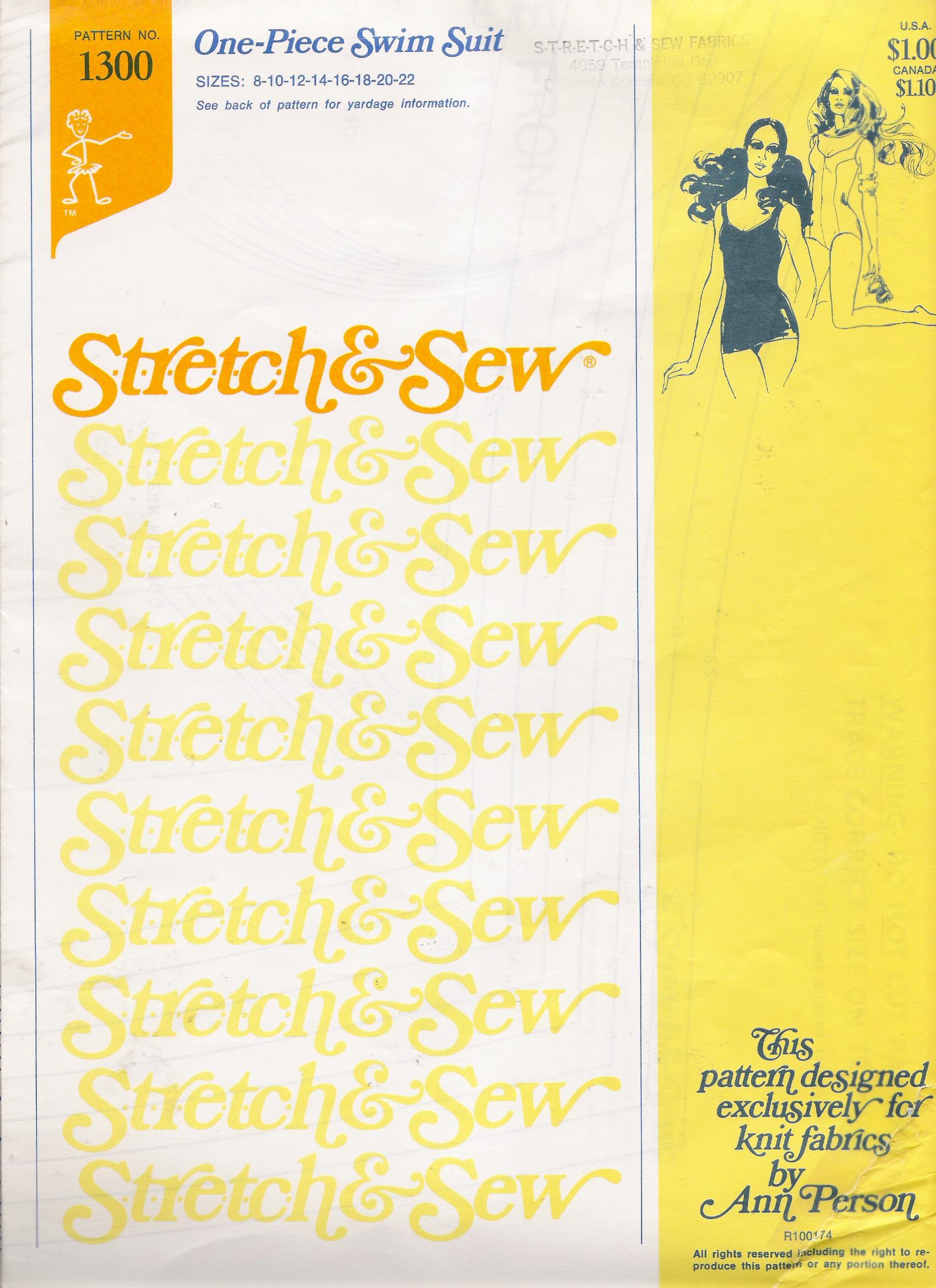 Stretch & Sew 1300