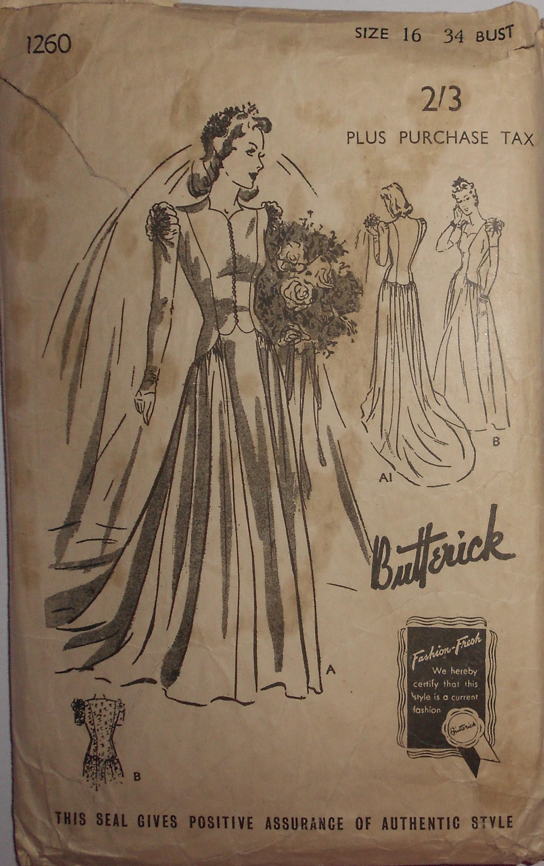 Butterick 1260