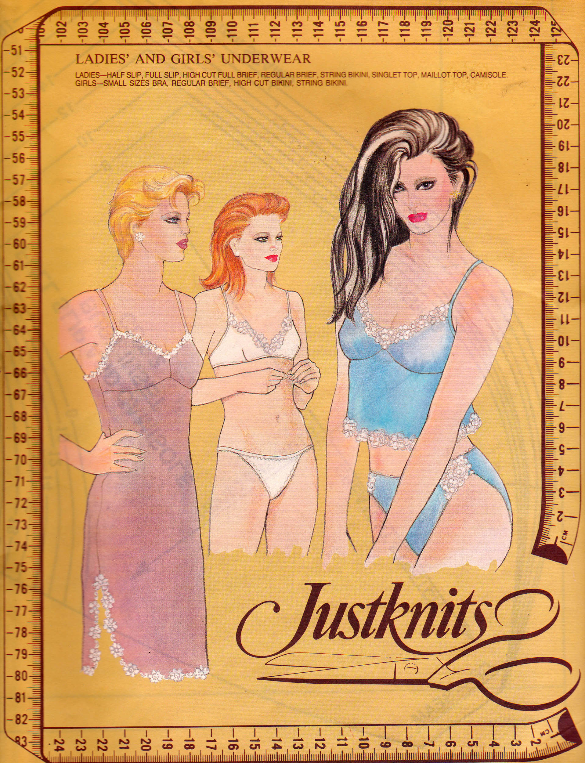 Justknits Ladies' and Girls' Underwear