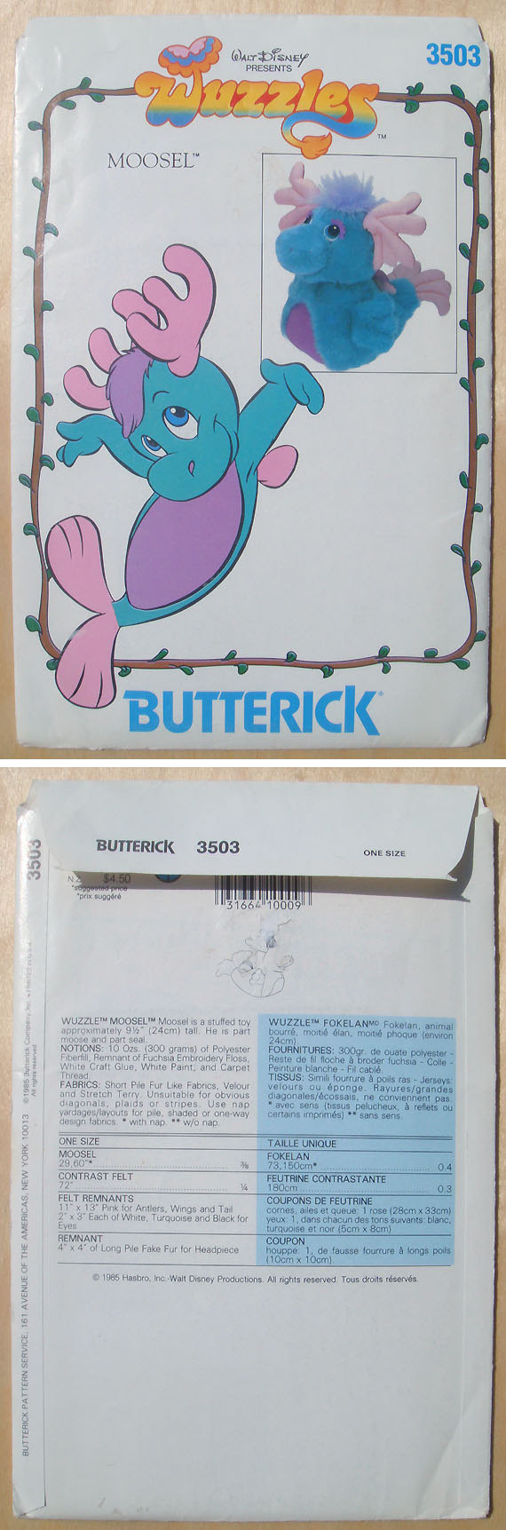 Butterick 3503