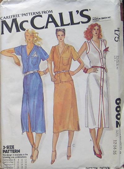 McCall's 6602 A