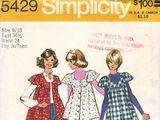 Simplicity 5429