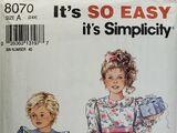 Simplicity 8070 B