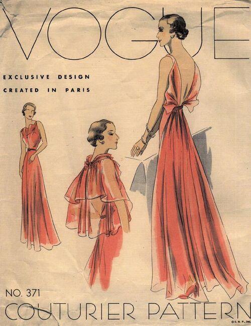 Vogue 371 Couturier