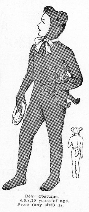 Weigel's Bear Costume