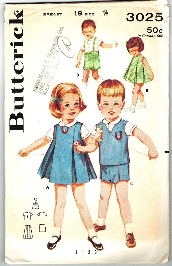 Butterick 3025 C