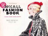 McCall Fashion Book Mid-Winter 1932-33
