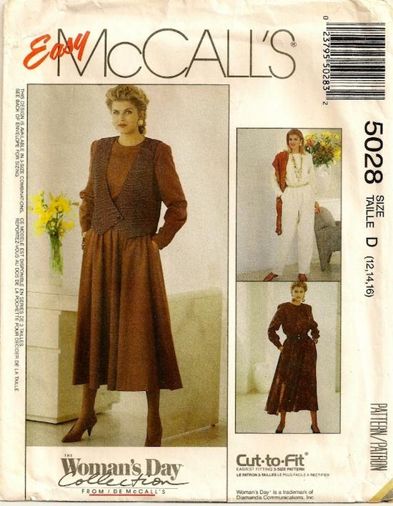 McCall's 5028 A