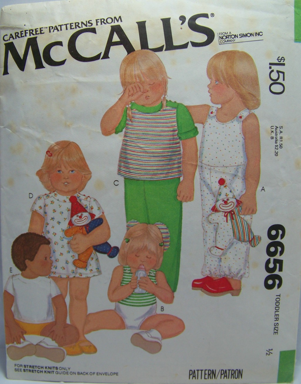 McCall's 6656 A