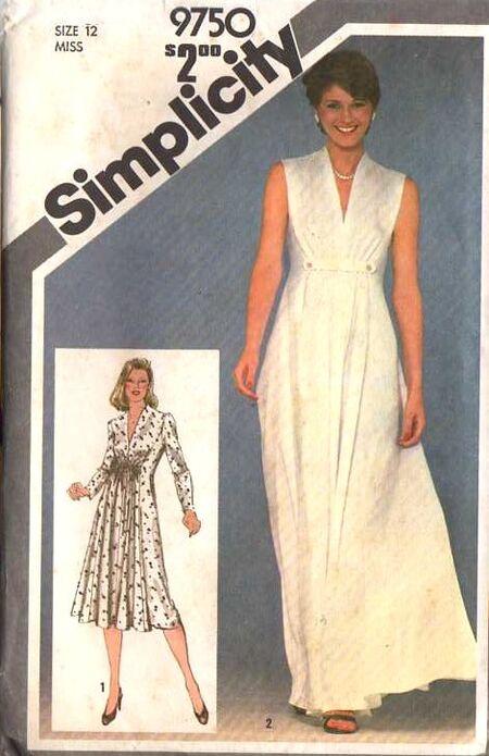 Simplicity 9750