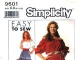 Simplicity 9601 A