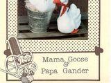 Cozy Cat Creations Mama Goose & Papa Gander