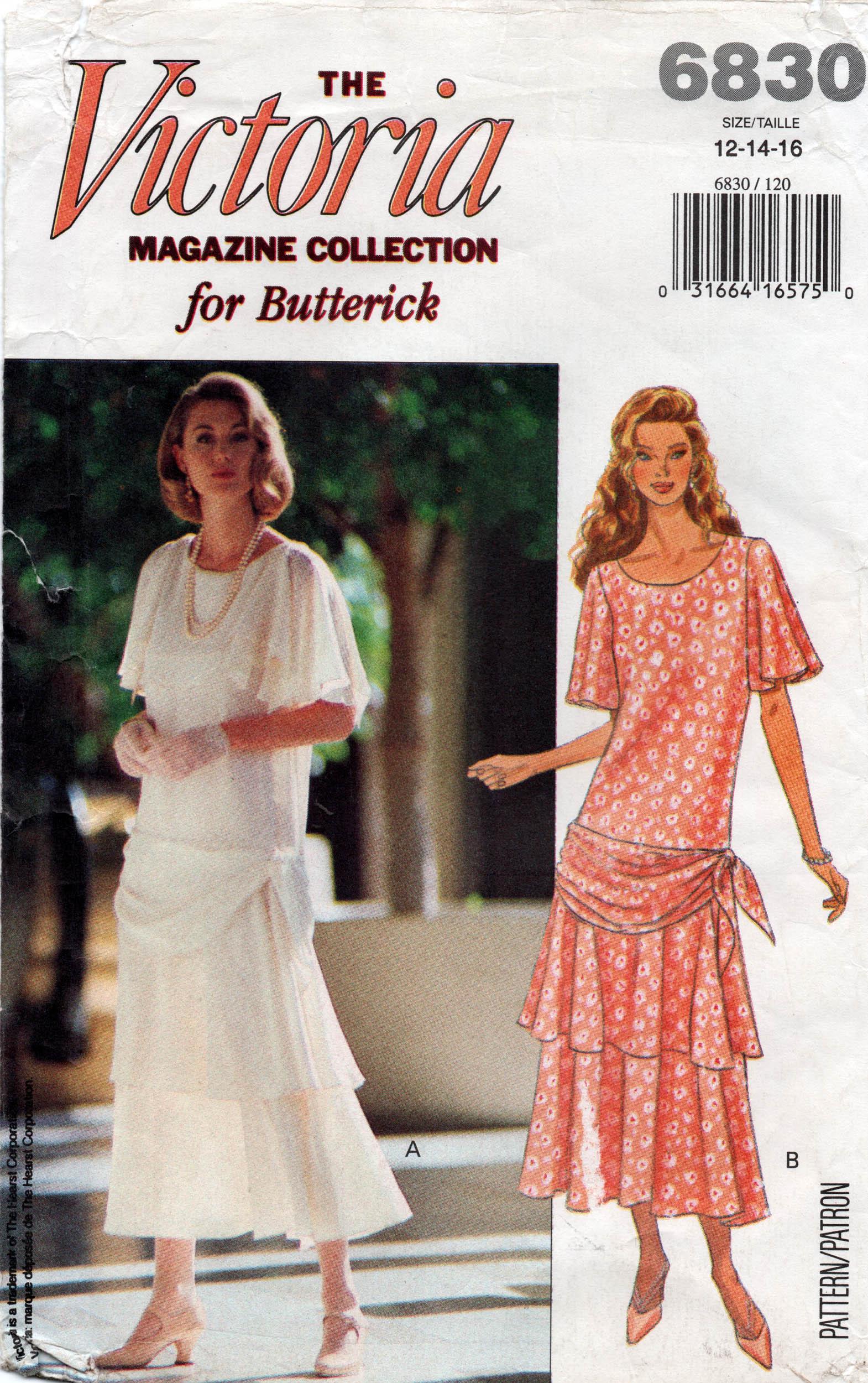 Butterick 6830 C