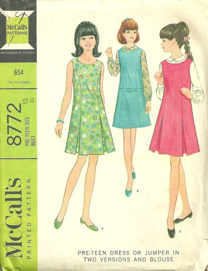 McCall's 8772 B