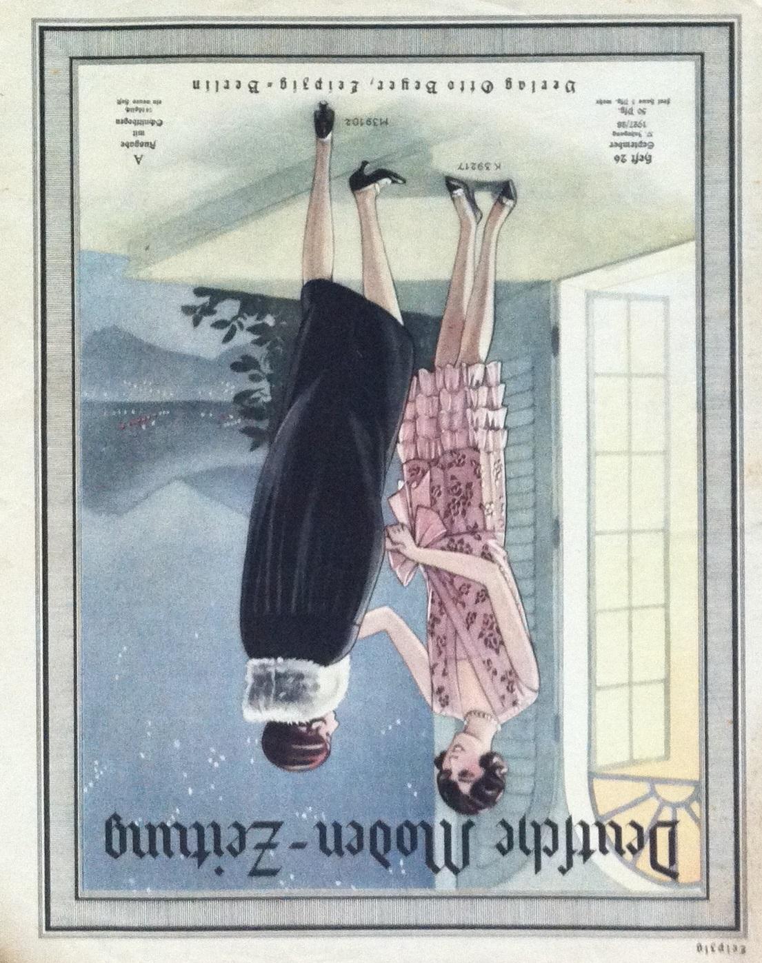 Deutsche Moden-Zeitung No. 26 Vol. 37 1927/28