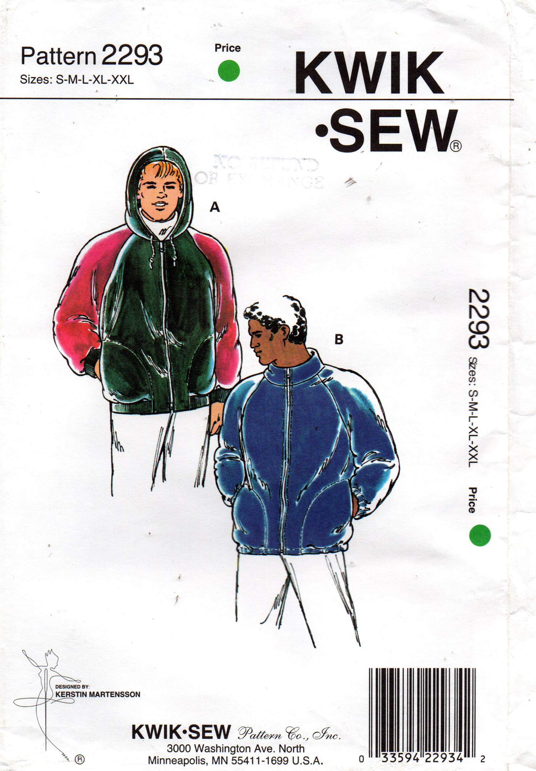 Kwik Sew 2293