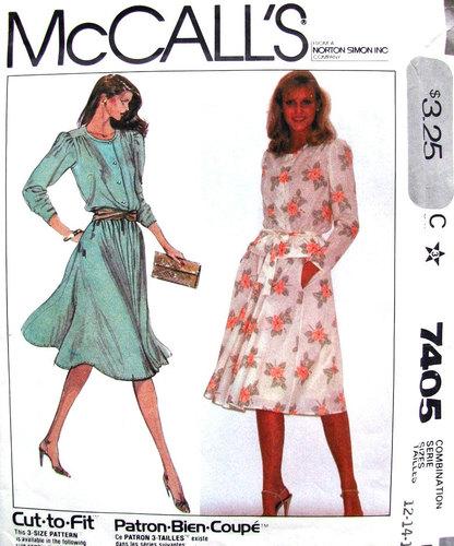 McCall's 7405 A