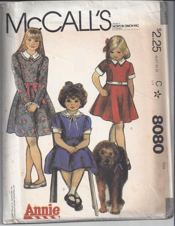 McCall's 8080 A