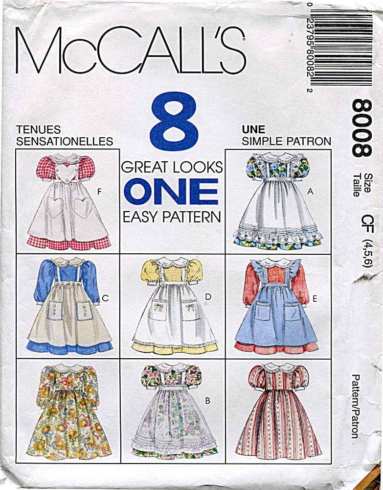 McCall's 8008 A
