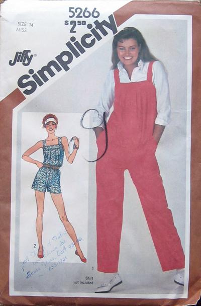 Simplicity 5266 A