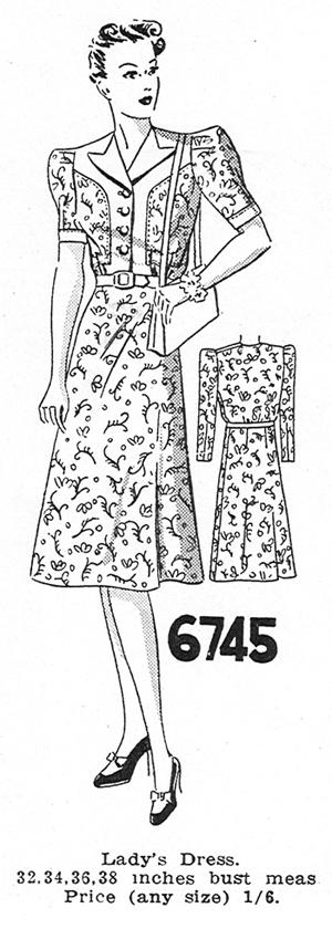 Madame Weigel's 6745