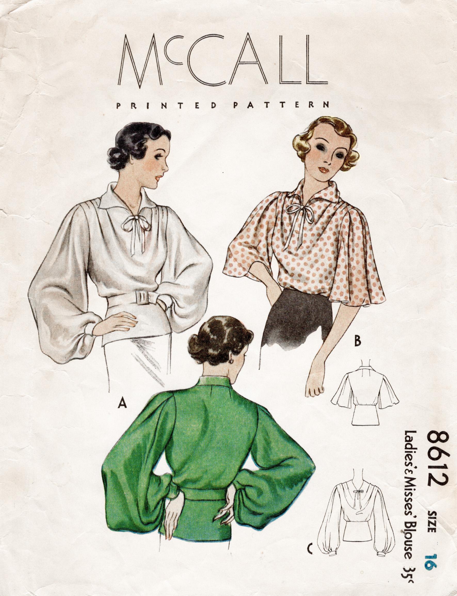 McCall 8612