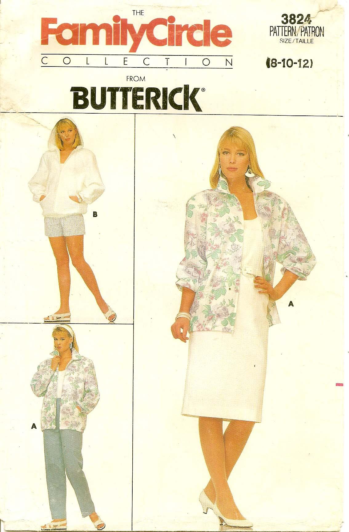 Butterick 3824 A