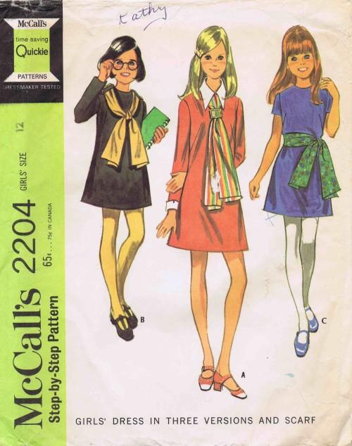 McCall's 2204 A