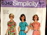 Simplicity 6342 A