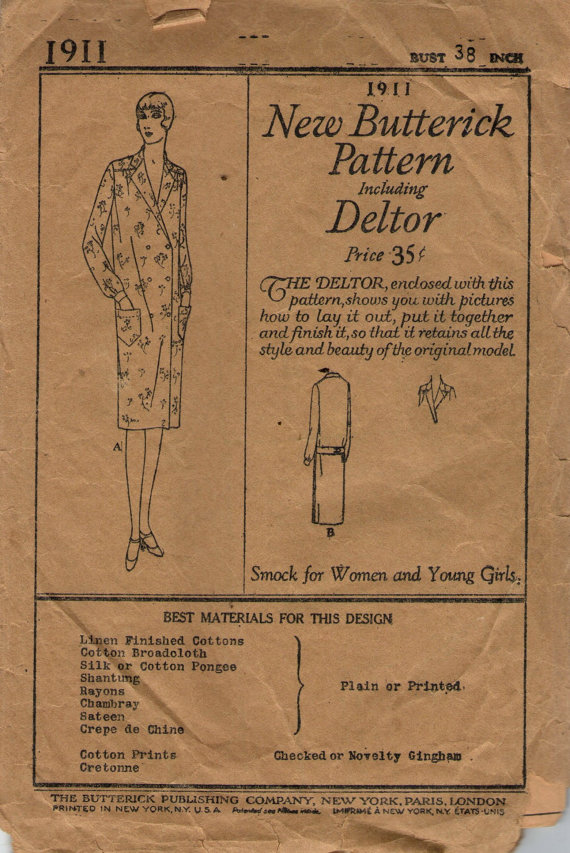 Butterick 1911
